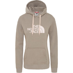 The North Face Drew Peak Pullover Hoodie Damen silt grey